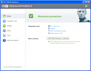 ESET Nod32 Antivirus 2018 Crack