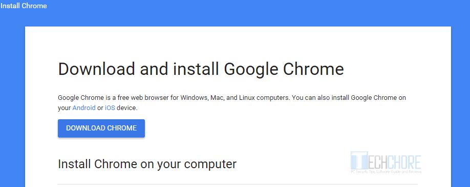 Google Chrome Portable Latest Version free download