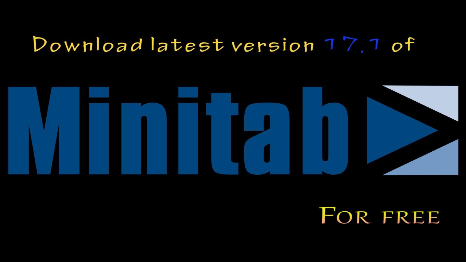 minitab 18 free download with crack
