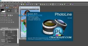 PhotoLine 19.51 Crack Mac