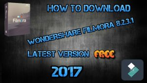 Wondershare Filmora 8.2.3.1 Crack 2018 Full Download